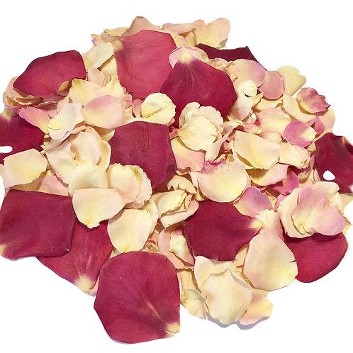 Eton Mess, a mixture of freeze-dried rose petals