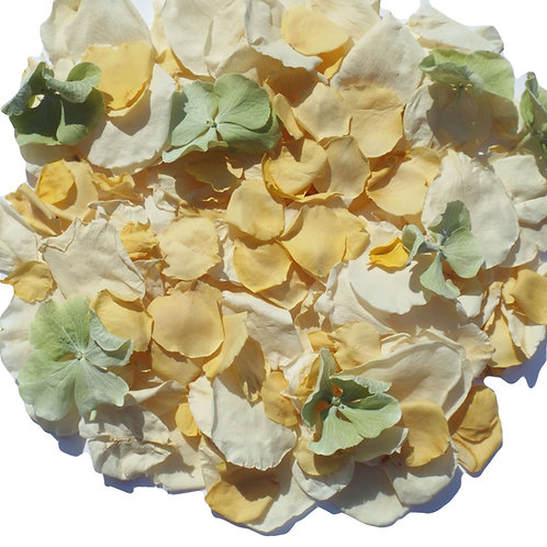 Lemon Mix Confetti Petals