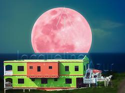 Watermellon moon