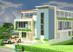 Mr. Desmond D'souza's Bungalow design at Naigaon (W) Vasai.