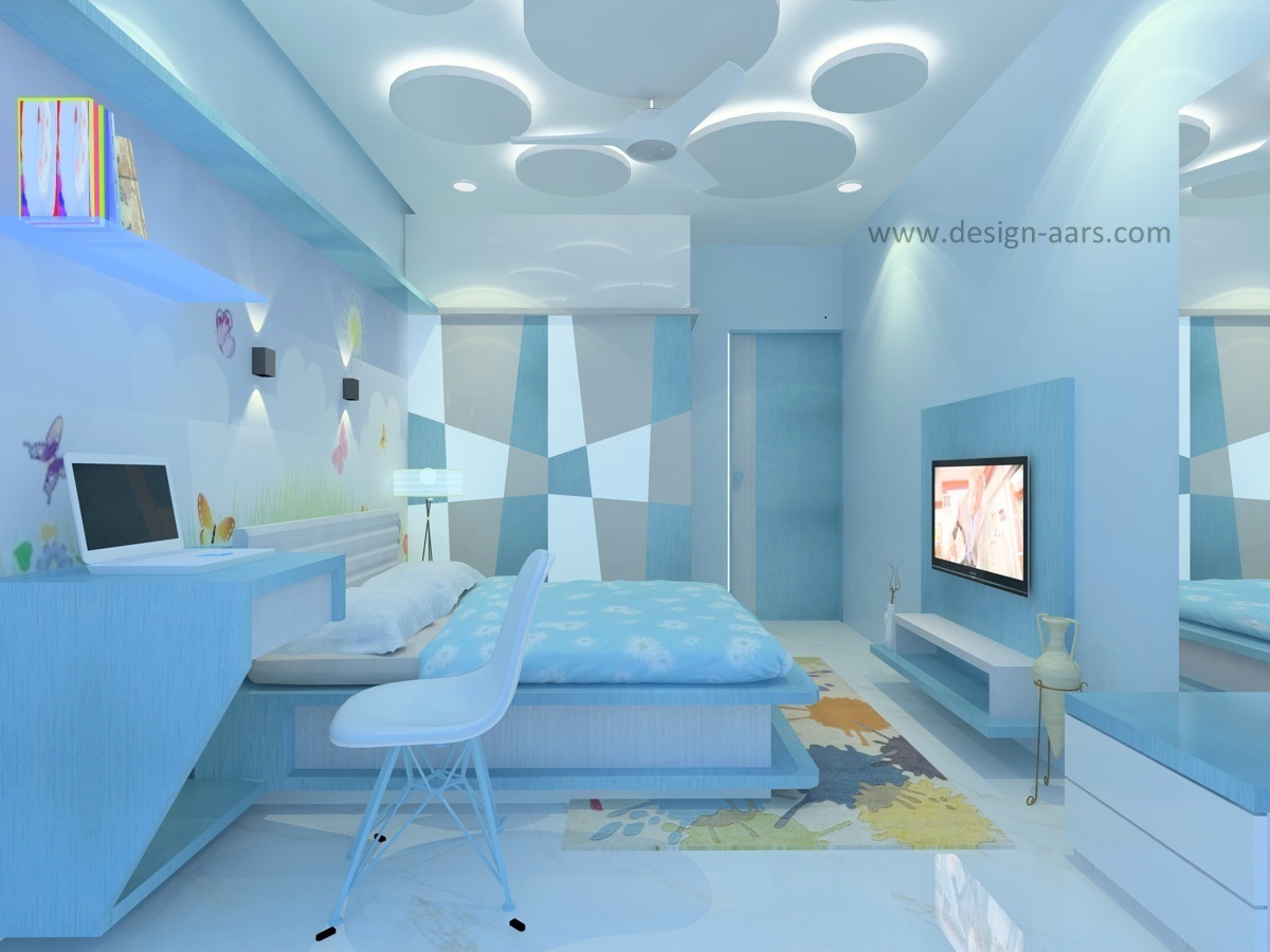 Mr. Suresh Shukla's Children's Bedroom at Global City Virar (W)