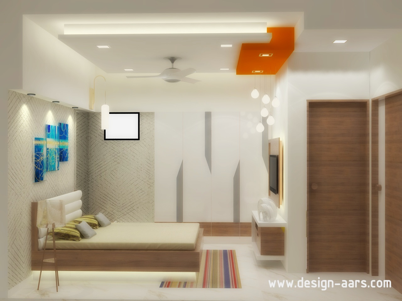 Mr. Narayan Patak's Flat Interior Design at Global City, Virar (W)