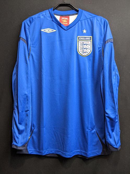 【2006/08】イングランド代表(GK)/ Condition:New / Size:L