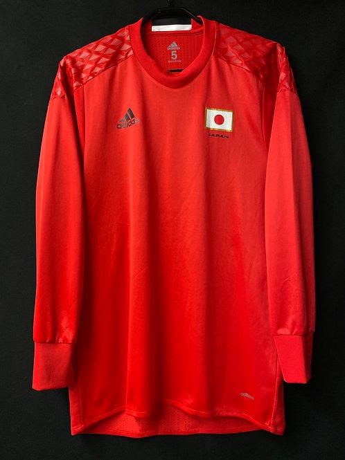 【2016】五輪日本代表(GK)/ Condition:A / Size:5 / L(日本規格)相当 / 選手用