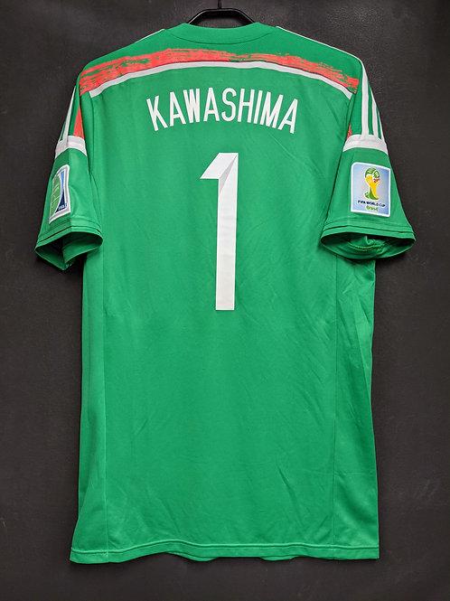 【2014】日本代表(GK)/ Condition:A / Size:2XO(日本規格)/ 選手用