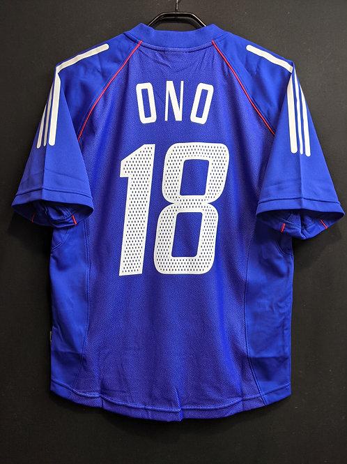 【2002/03】日本代表(H)/ Condition:New / Size:S(日本規格)
