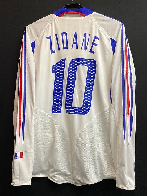【2004/05】フランス代表(A)/ Condition:B / Size:L / 選手用