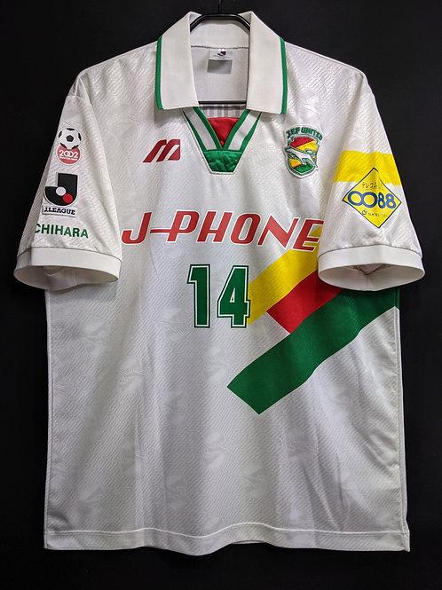【1997】ジェフユナイテッド市原(A)/ Condition:B+ / Size:XO(日本規格) / 選手用