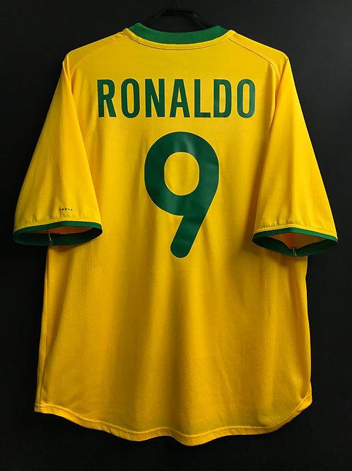 【2000/01】ブラジル代表(H)/ Condition:A- / Size:L