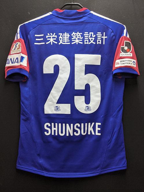 【2012】横浜F・マリノス(H)/ Condition:A- / Size:S(日本規格) / オーセンティック