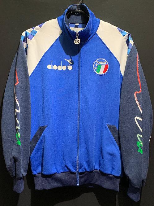 【1990/91】/ イタリア代表 トラックスーツ 上下セット / Condition:B / Size:M