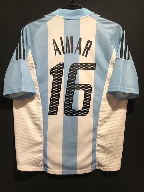 【2002/03】アルゼンチン代表(H)/ Condition:A- / Size:M