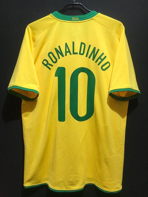 【2008/09】ブラジル代表(H)/ Condition:A / Size:XL