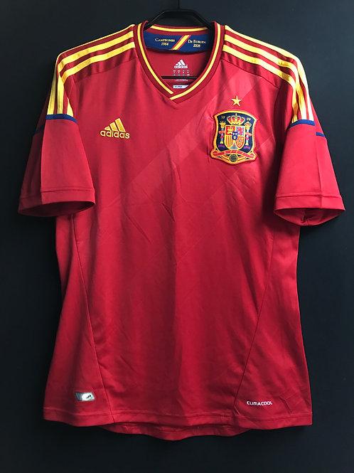 【2012】スペイン代表(H)/ Condition:A- / Size:M
