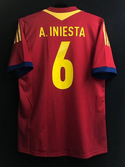 【2013】スペイン代表(H)/ Condition:New / Size:8(L相当) / 選手用