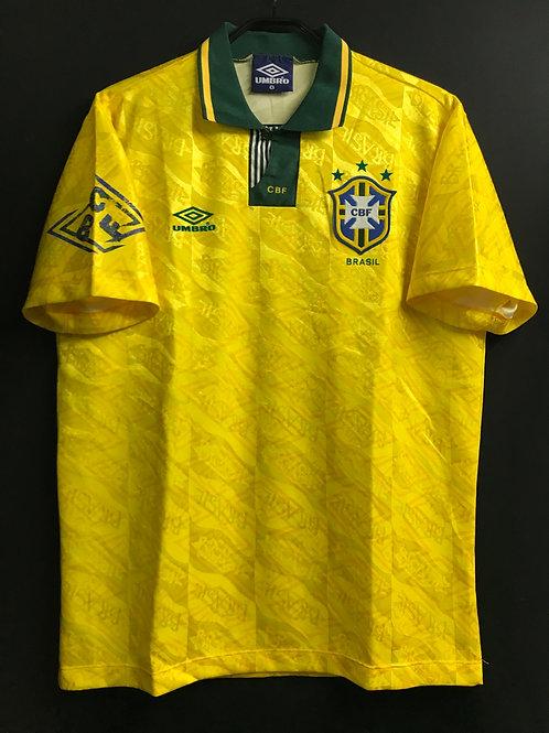 【1992/93】ブラジル代表(H)/ Condition:B+ / Size:L