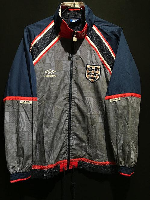 【1994/96】イングランド代表トレーニングジャケット/ Condition:B+ / Size:S
