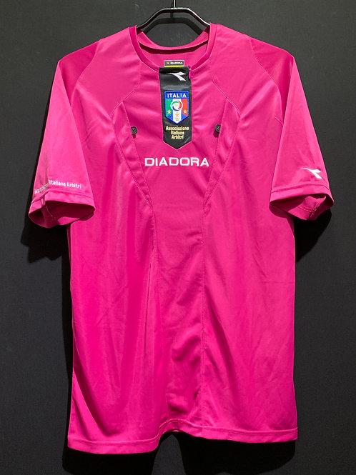 イタリアサッカー協会 レフェリーシャツ / Condition:New / Size:M