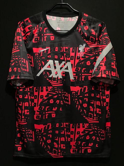 【2020/21】リバプール プレマッチトップ/ Condition:A / Size:XL
