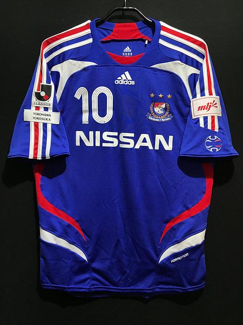 【2007】横浜F・マリノス(H)/ Condition:A / Size:O(日本規格) / オーセンティック