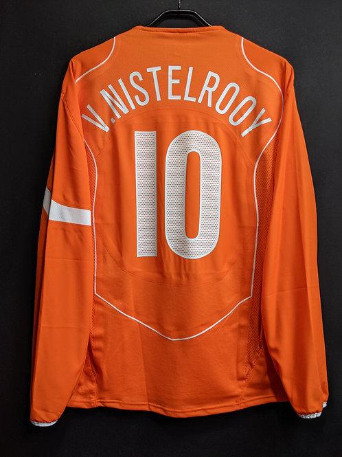 【2004/05】オランダ代表(H)/ Condition:A / Size:L / 選手用