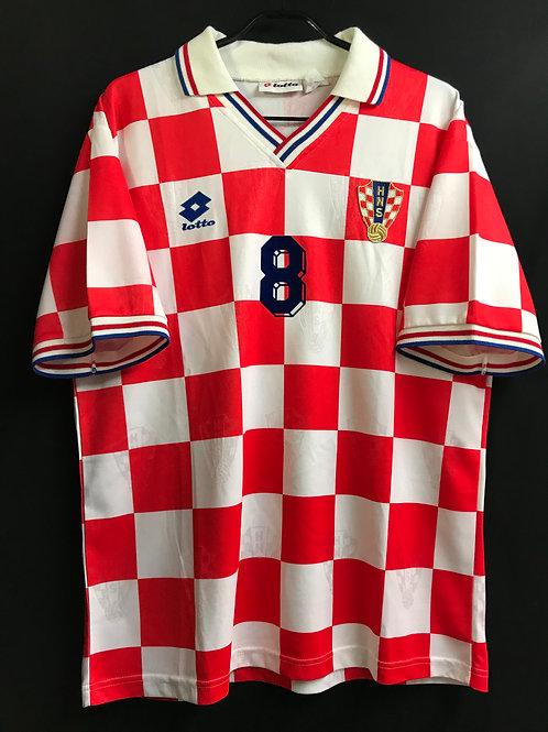 【1994/95】 / クロアチア代表(H) / Condition:A- / Size:XXL / 選手用
