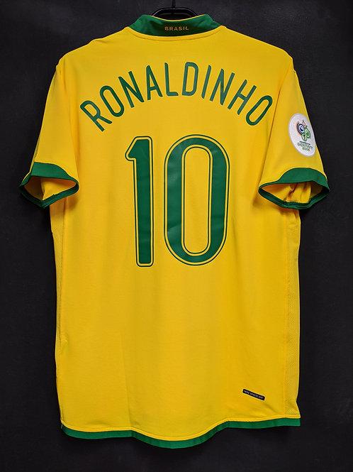 【2006】ブラジル代表(H)/ Condition:A- / Size:L