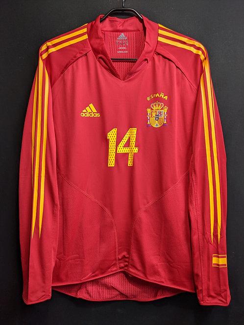【2004/05】スペイン代表(H)/ Condition:A / Size:L / 選手用