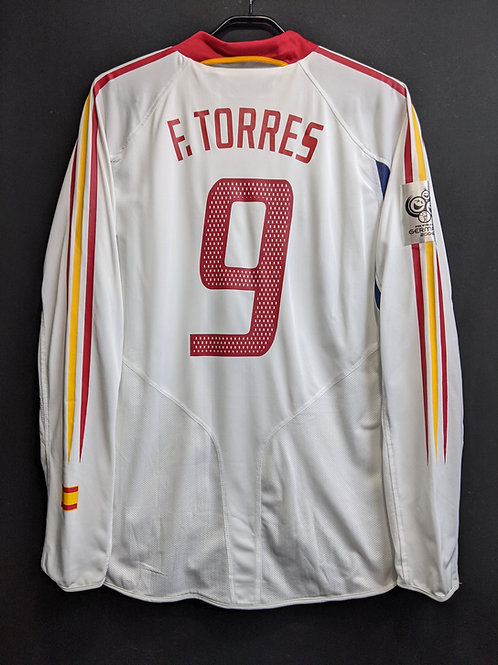 【2005】スペイン代表(A)/ Condition:A / Size:L / 選手用