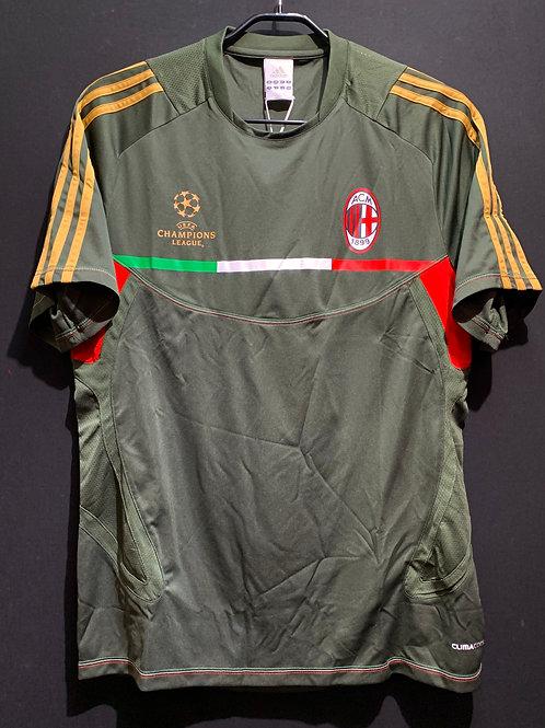 【2011/12】ACミラン UCLトレーニングシャツ / Condition:New / Size:O(日本規格)