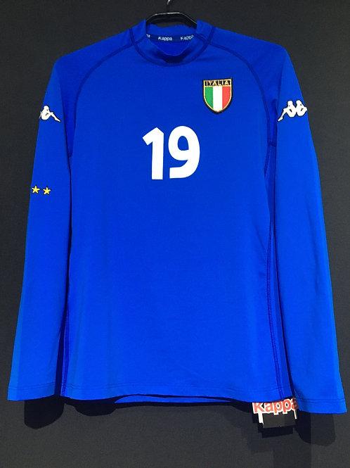 【2002】 / イタリア代表(H) / Condition:New / Size:L / 選手用