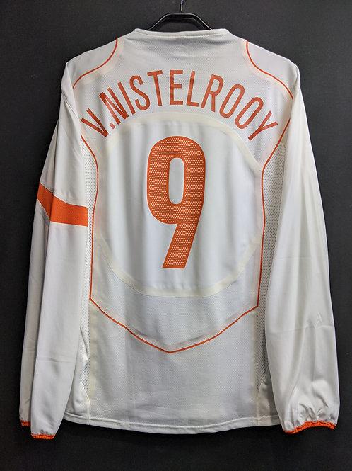 【2004/05】オランダ代表(A)/ Condition:A- / Size:L / 選手用