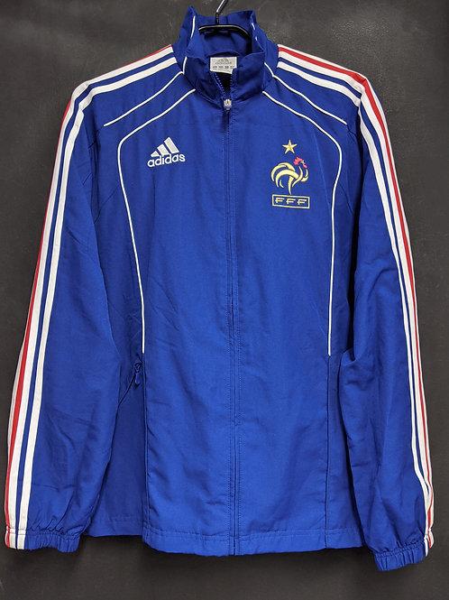 【2010】フランス代表 ウーブンプレゼンテーションスーツ上下セット / Condition:A / Size:S