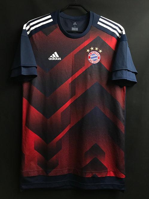 【2017/18】 / バイエルンプレマッチシャツ / Condition:A / Size:S