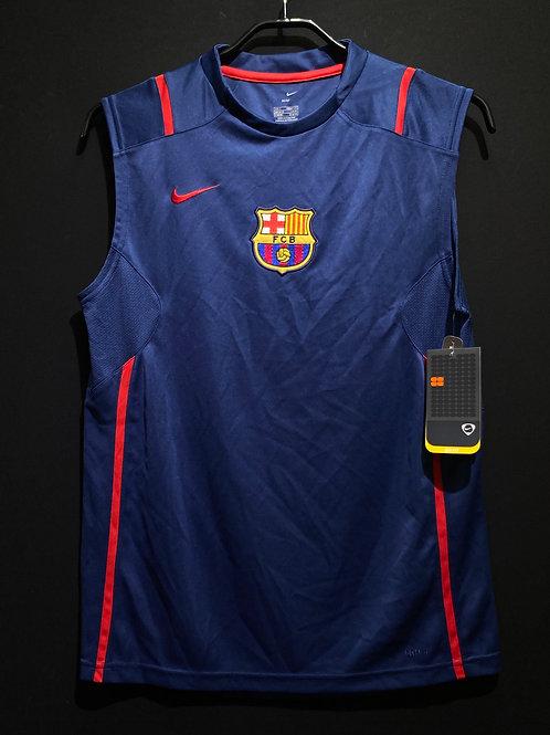 【2006/07】バルセロナ スリーブレス トレーニングトップ / Condition:New / Size:S