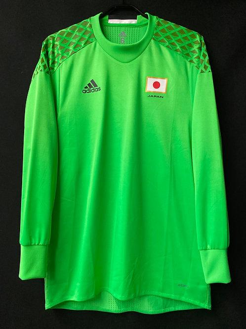 【2016】五輪日本代表(GK)/ Condition:New / Size:6 / O(日本規格)相当 / 選手用