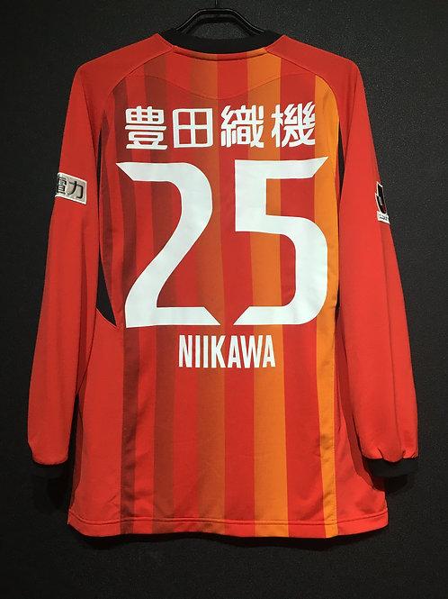 【2009】 / 名古屋グランパス 上下セットアップ(H) / Condition:A / Size:M-L(日本規格)、L(日本規格) / 選手用