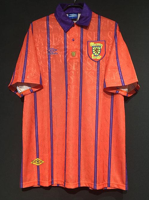 【1993/95】 / スコットランド代表(A) / Condition:B+ / Size:XL / 選手用