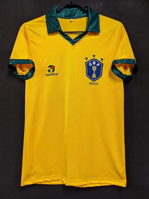 【1986】ブラジル代表(H)/ Condition:A / Size:XL / 復刻版