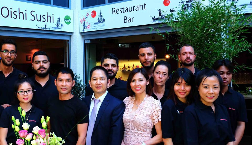 Oshi Sushi Team