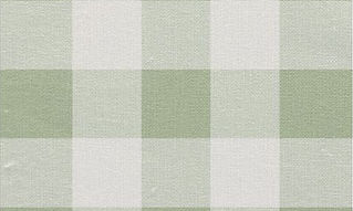 Sage Green and White Gingham Pattern Fab