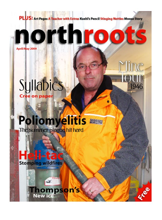 Cyr on the cover of Northroots