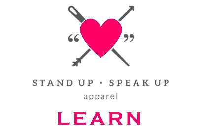 Stand Up. Speak Up. More than just apparel