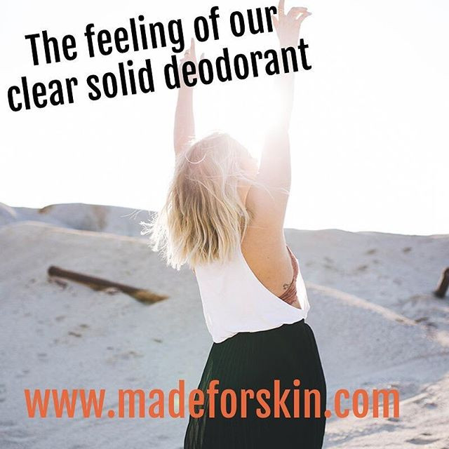 Aluminum Free Deodorants | The Best Deodorants For Your Family | made for SKIN | natural skincare Winnipeg