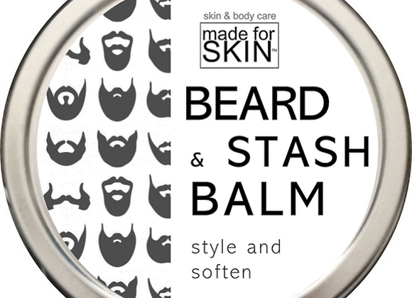 Beard and Stash Balm | made for SKIN