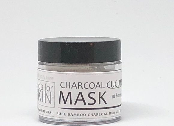 Charcoal and Bamboo Mud Mask | made for SKIN