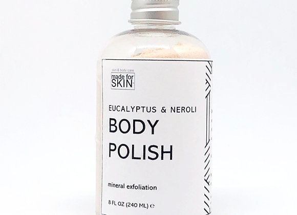 Eucalyptus and Neroli Mineral Body Polish | made for SKIN