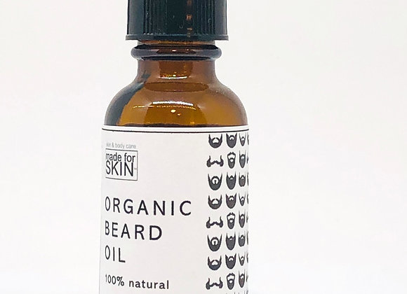 Organic Beard Oil | made for SKIN