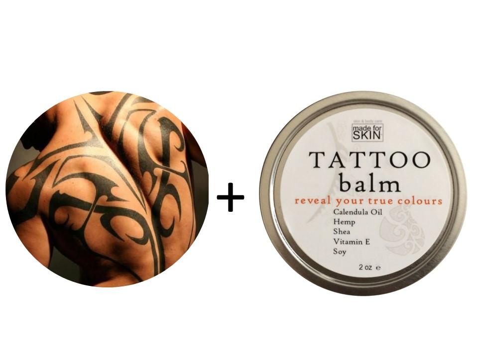 Natural Tattoo Balm | Winnipeg | Canada | made for SKIN