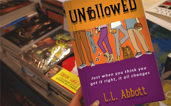 Unfollowed | A Teen & Young Adult Novel about being a teen